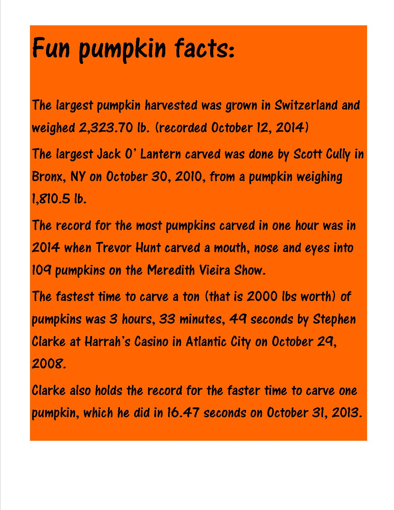 pumpkin-facts
